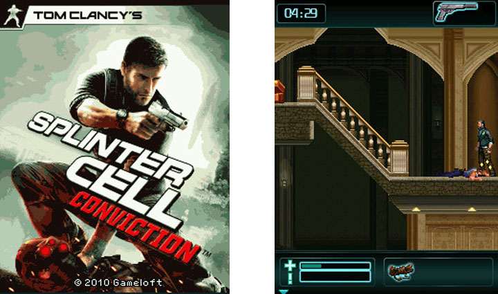 Zahrajte si java hru Tom Clancy's Splinter Cell Conviction